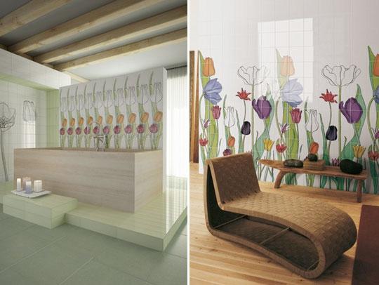 Ceramiche artistiche rivestimenti bagno commerciale edile milano - Ceramiche bagno prezzi ...