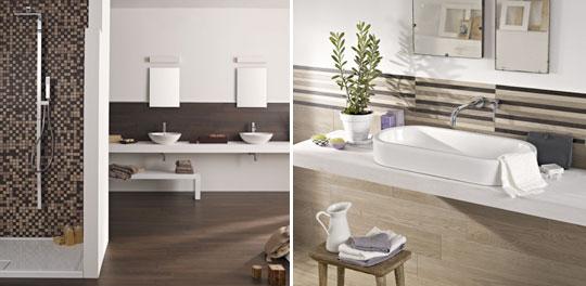 Piastrelle rivestimenti bagno commerciale edile milano - Piastrelle effetto legno per bagno ...