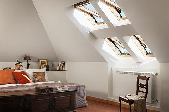 Casa moderna roma italy finestre velux per tetti for Velux bk04